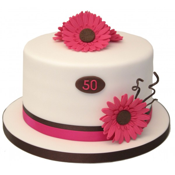 gerbera_50th_birthday_cake1-600x600
