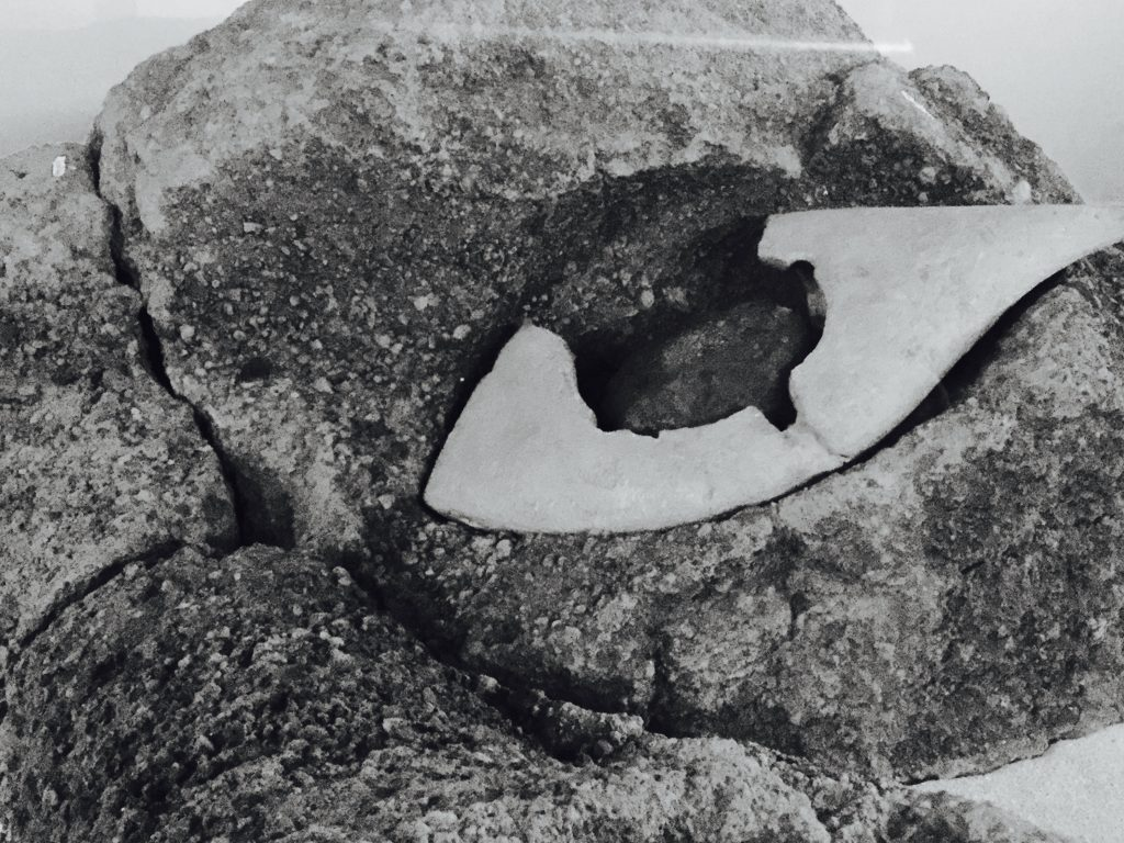 The only Moai eye that has survived over the centuries, housed at the island's Museo Antropológico Padre Sebastián Englert.